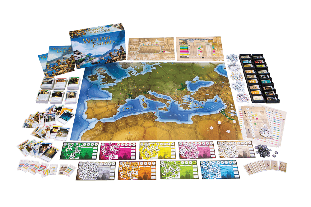 Western Empires - Bordspel
