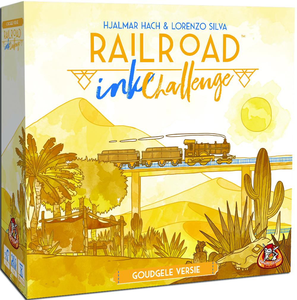 Railroad Ink (Goudgele versie) - Dobbelspel