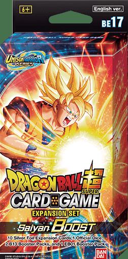 Dragon Ball SCG: Saiyan Boost Expansion Set