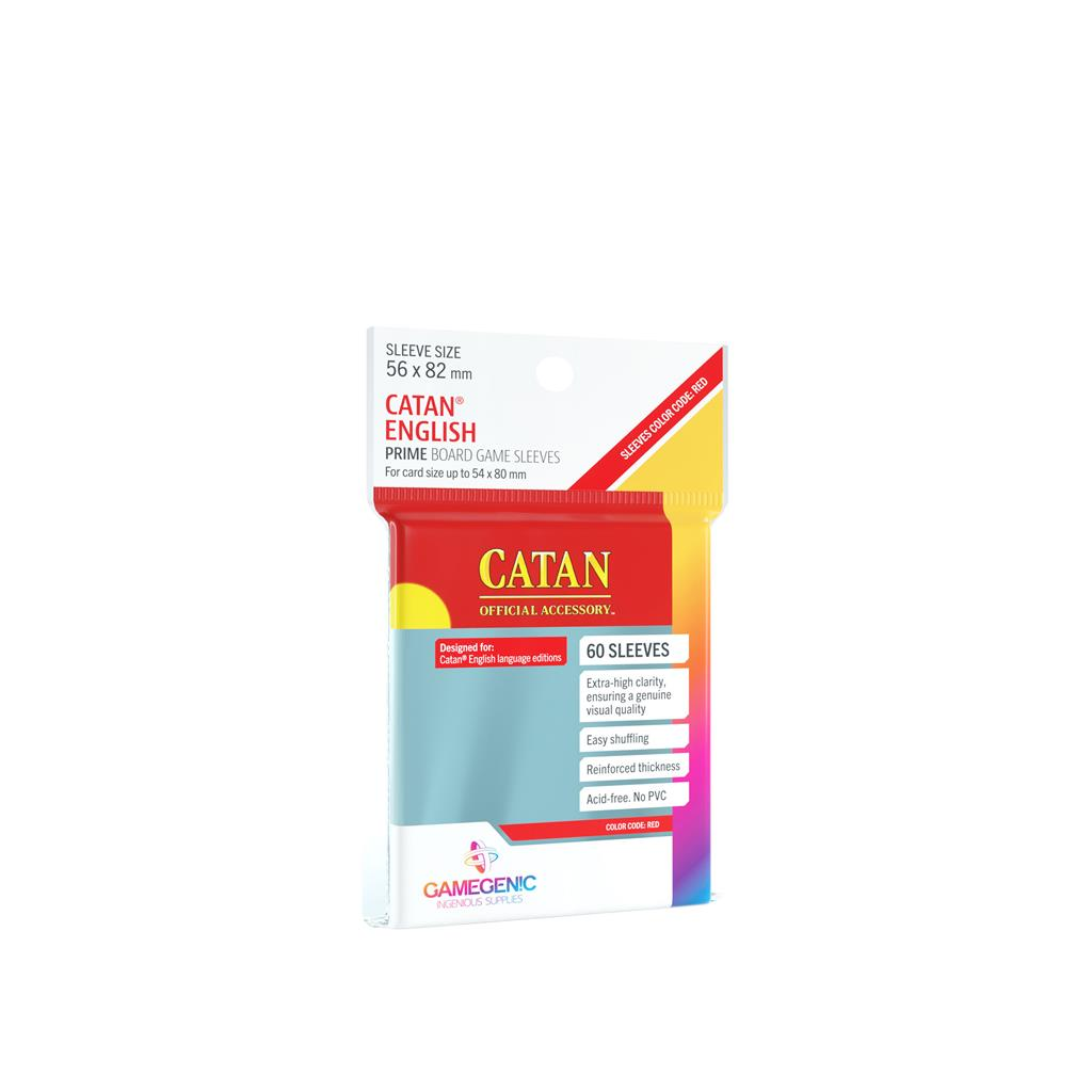 Sleeves: Prime Catan-Sized 56x82mm (50)