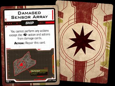 Star Wars X-wing 2.0 Galactic Republic Damage Deck