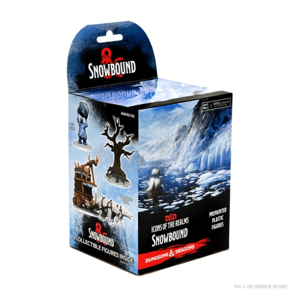 D&D Icons of the Realms Miniatures: Snowbound Booster
