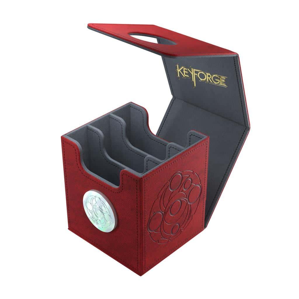 Deckbox: Keyforge Vault Red