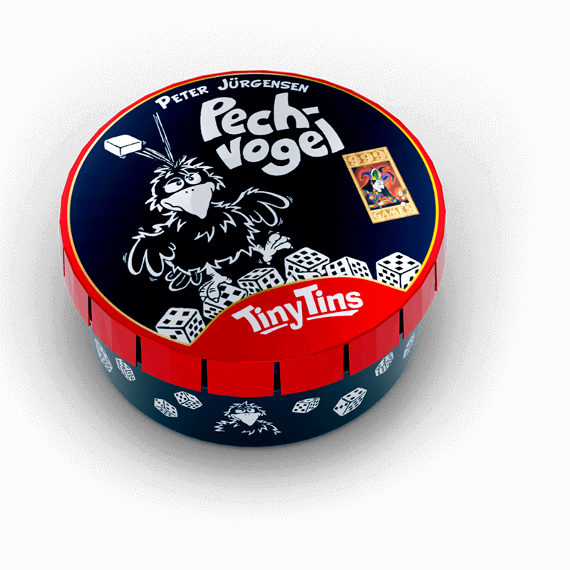 Tiny Tins: Pechvogel - Dobbelspel
