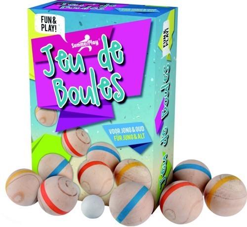 Jeu de boules Set 6 bals (Hout)