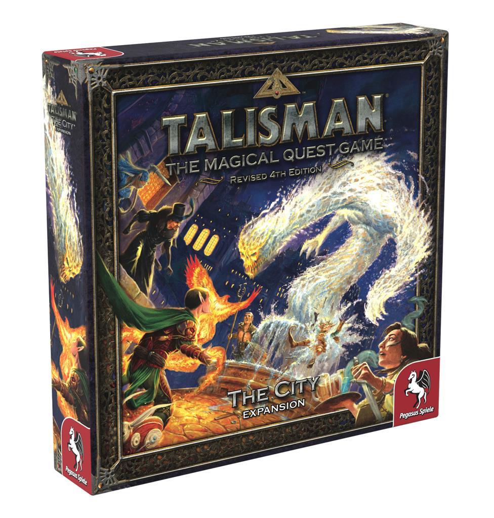 Talisman 4th Edition - The City